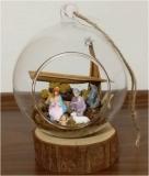 Presepe (diametro vetro 10 cm)