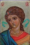Arcangelo Gabriele - Icona scritta a mano  da Sr Maria Guadalupe